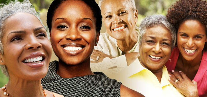 African American women of various ages